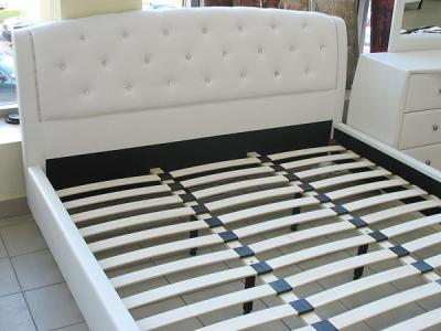 Кровать Королевство сна Insigne 160x200 белая с кристаллами (с основанием) - основание