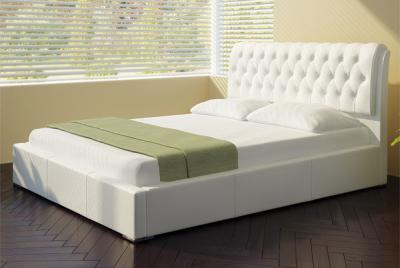 Двуспальная кровать Королевство сна Casa 180x200 (белая, без основания) - в интерьере