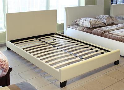 Полуторная кровать Королевство сна 8036 140х200 (ванильно-кремовая) - общий вид