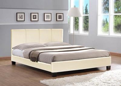 Полуторная кровать Королевство сна 8036 140х200 (ванильно-кремовая) - в интерьере