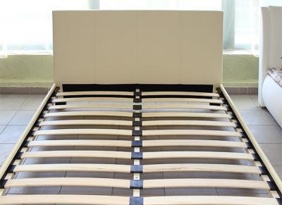 Двуспальная кровать Королевство сна 8036 160x200 (ванильно-кремовый) - общий вид