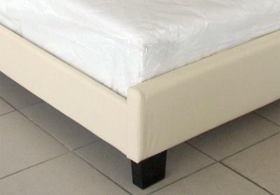 Двуспальная кровать Королевство сна 8036 160x200 (ванильно-кремовый) - ножки