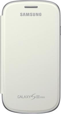 Чехол-флип для Samsung I8190 Samsung EFC-1M7FWEGSER White - общий вид