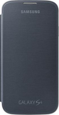 Чехол-флип для Samsung I9500 Samsung EF-FI950BBEGR Black - общий вид