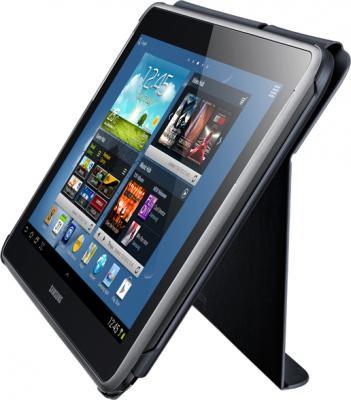 Чехол для планшета Samsung EFC-1G2NGECSER Dark Gray - в качестве подставки