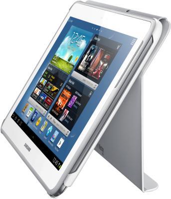 Чехол для планшета Samsung EFC-1G2NWECSER White - в качестве подставки