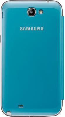 Чехол-флип для Samsung N7100 Samsung EFC-1J9FBEGSTD Blue - общий вид