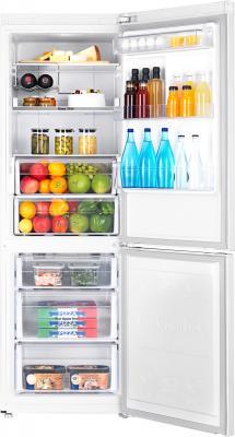 Холодильник с морозильником Samsung RB31FERMDWW/WT - камеры хранения
