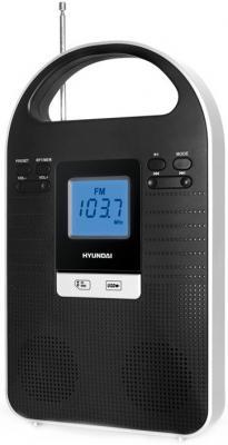 Радиоприемник Hyundai H-1603 Black - общий вид
