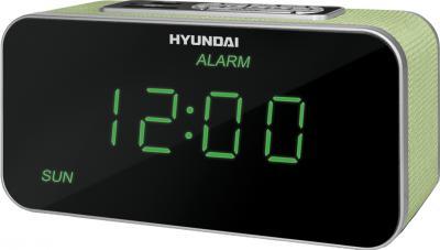 Радиочасы Hyundai H-1503U  (Green) - общий вид