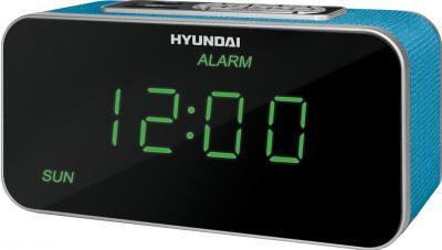 Радиочасы Hyundai H-1503U (Aquamarine) - общий вид