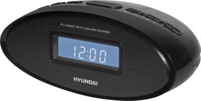 Радиочасы Hyundai H-1535  (Black) - общий вид