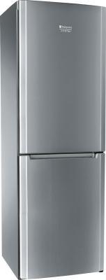 Холодильник с морозильником Hotpoint HBM 1181.3 X NF - общий вид