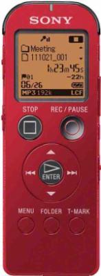Цифровой диктофон Sony ICD-UX522R - вид спереди