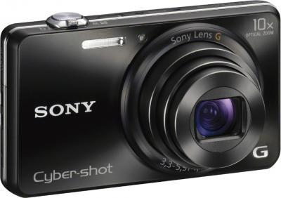 Компактный фотоаппарат Sony Cyber-shot DSC-WX200 Black - общий вид