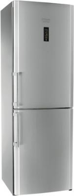 Холодильник с морозильником Hotpoint HBU 1181.3 X NF H O3 - общий вид
