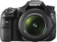 Фотоаппарат Sony SLT-A58K - вид спереди