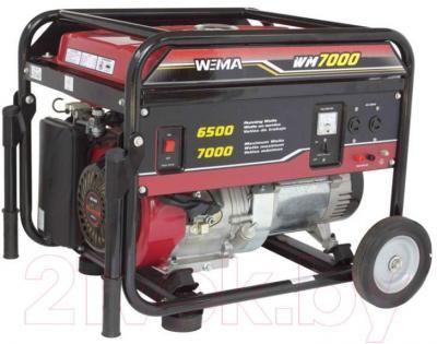 Бензиновый генератор Weima WM7000 - общий вид