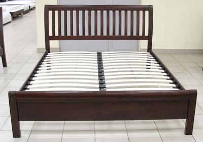 Двуспальная кровать Королевство сна 3601 160х200 (венге) - вид спереди