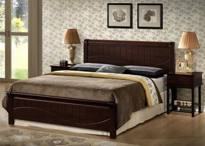 Полуторная кровать Королевство сна 3655 140х200 (венге) - в интерьере