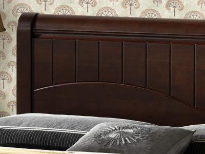 Полуторная кровать Королевство сна 3655 140х200 (венге) - общий вид