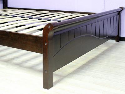 Двуспальная кровать Королевство сна 3655 180x200 (венге) - общий вид
