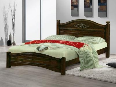 Двуспальная кровать Королевство сна SN104 180х200 (капучино) - в интерьере