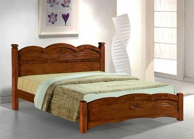 Двуспальная кровать Королевство сна SN103d 160х200 (античный дуб) - в интерьере