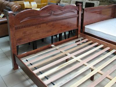Двуспальная кровать Королевство сна SN103d 160х200 (античный дуб) - общий вид