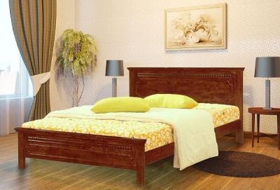 Двуспальная кровать Королевство сна SN53 160х200 (античный дуб) - в интерьере