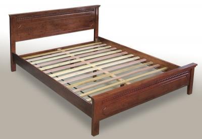 Двуспальная кровать Королевство сна SN53 160х200 (античный дуб) - общий вид