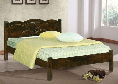 Двуспальная кровать Королевство сна SN205 160x200 (капучино) - в интерьере