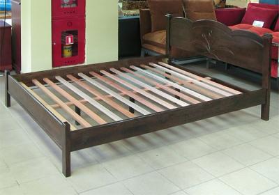 Двуспальная кровать Королевство сна SN205 160x200 (капучино) - общий вид