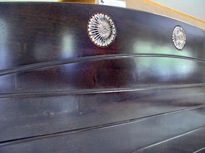 Двуспальная кровать Королевство сна SN201 160х200 (капучино) - детальное изображение