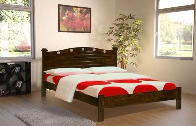 Двуспальная кровать Королевство сна SN201 160х200 (капучино) - в интерьере