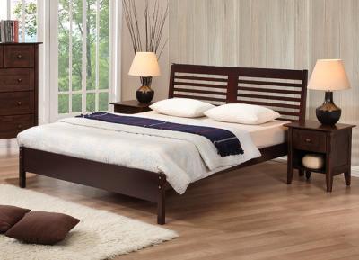 Двуспальная кровать Королевство сна Natalie 160х200 (капучино) - общий вид