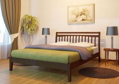 Двуспальная кровать Королевство сна Jessica 160х200 (винтаж) - в интерьере