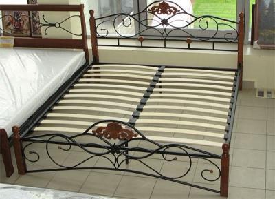 Двуспальная кровать Королевство сна FD-881 180х200 (античный дуб) - общий вид