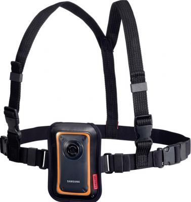 Видеокамера Samsung HMX-W350 Black-Orange - общий вид