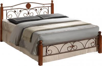 Полуторная кровать Королевство сна PS-8823 140х200 (античный дуб) - общий вид
