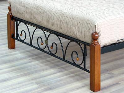 Двуспальная кровать Королевство сна PS-8823 160х200 (античный дуб) - ножки кровати