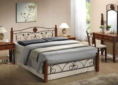Двуспальная кровать Королевство сна PS-8823 160х200 (античный дуб) - в интерьере