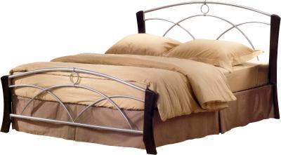 Полуторная кровать Королевство сна 9813 140х200 (венге) - общий вид