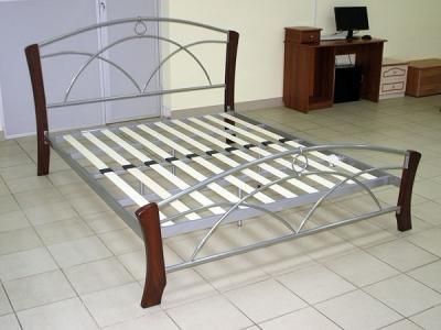 Двуспальная кровать Королевство сна 9813 160х200 (венге) - общий вид
