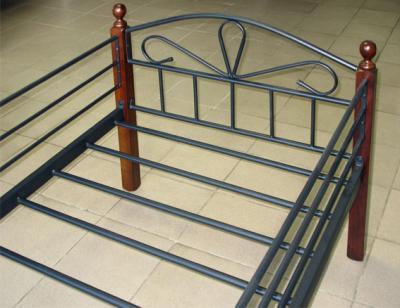 Односпальная кровать Королевство сна NV209DD 90x190 (тонированный дуб) - общий вид