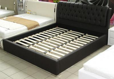 Двуспальная кровать Королевство сна Casa 180x200 темно-коричневый (с подъемным механизмом) - общий вид