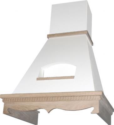 Вытяжка купольная Elikor Бельведер 90 (бежевый/дуб неокрашенный) - общий вид