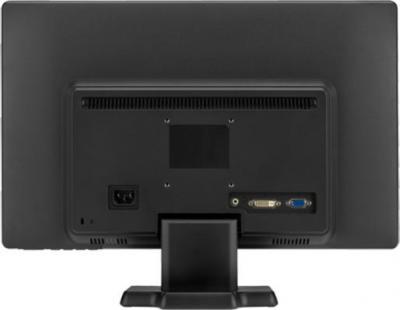 Готовое рабочее место HP 3500 MT (H4M15ES) - монитор, вид сзади