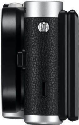 Беззеркальный фотоаппарат Samsung NX300 Kit 18-55mm Black-Silver (EV-NX300ZBSTRU) - вид сбоку