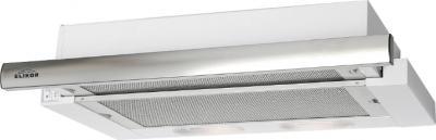 Вытяжка телескопическая Elikor Интегра 50П-400-В2Л (белый/нержавеющая сталь) - общий вид